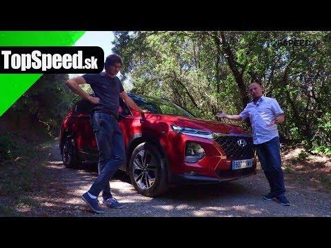 Hyundai Santa Fe jazda - Maroš ČABÁK TOPSPEED.sk
