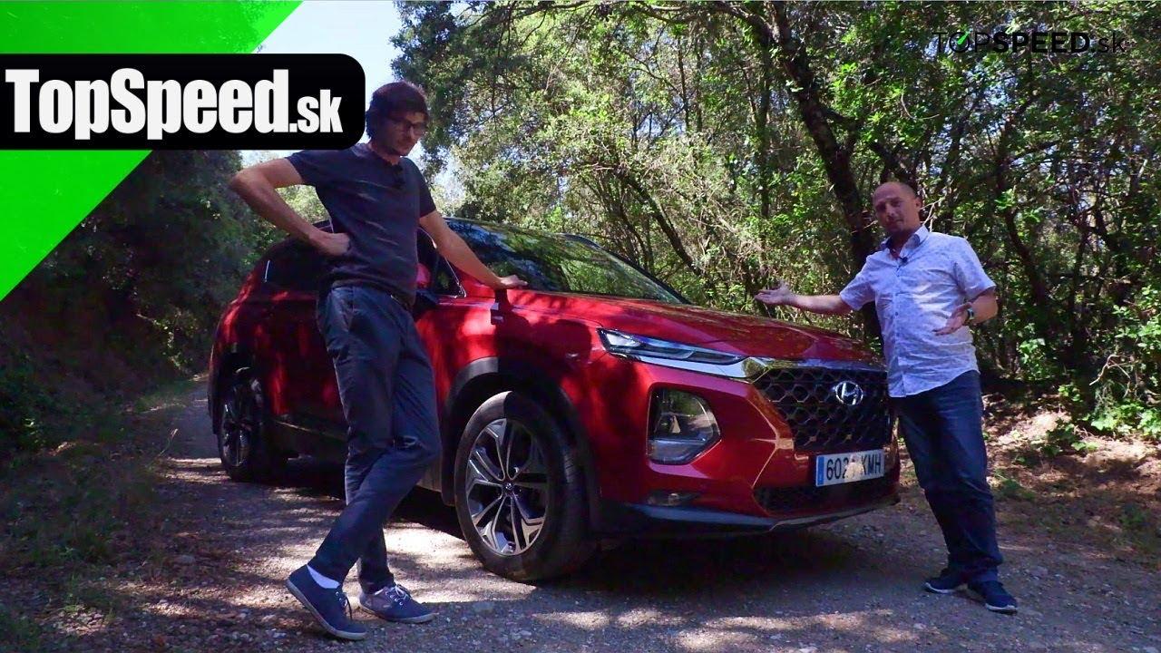 Hyundai Santa Fe jazda - Maroš ČABÁK TOPSPEED sk
