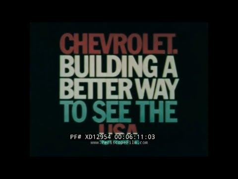 1974 CHEVROLET VEGA & CHEVY IMPALA PROMOTIONAL FILM   XD12954