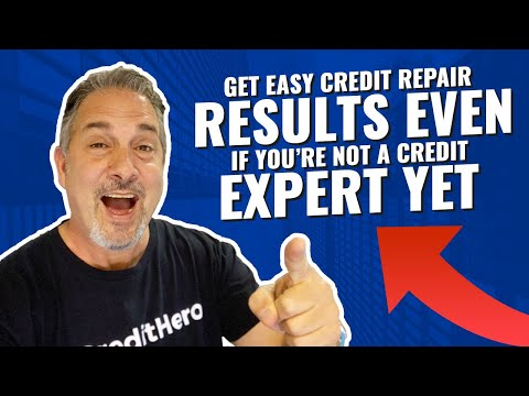 How To Get Easy Credit Repair Results For Your Clients (Even If You're Not An Expert Yet)