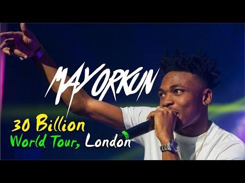 MAYORKUN PERFORMANCE AT 30 BILLION CONCERT, LONDON