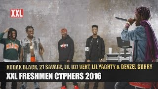 Kodak Black 21 Savage Lil Uzi Vert Lil Yachty And Denzel Currys 2016 XXL Freshmen Cypher