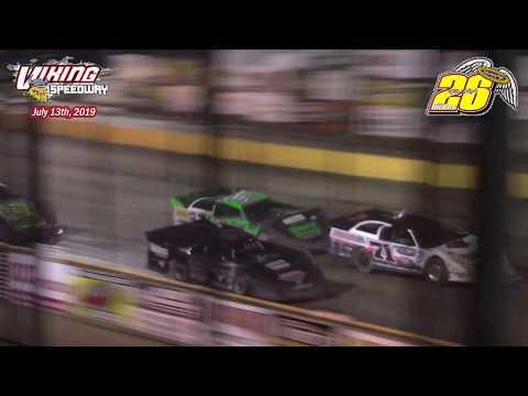 Viking Speedway WISSOTA Late Model A-Main (Bob Gierke Memorial) (7/13/19)