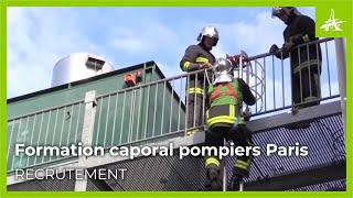 FORMATION CAPORAL POMPIERS PARIS