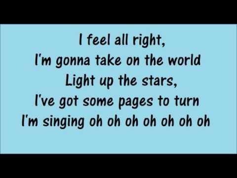 Take on the World by Sabrina Carpenter & Rowan Blanchard (Lyrics) HD