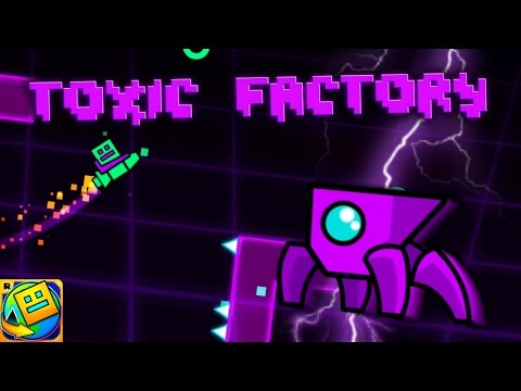 Geometry Dash World - Toxic Factory (Island 2)