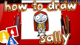 How To Draw Cartoon Sally From Nightmare Before Christmas