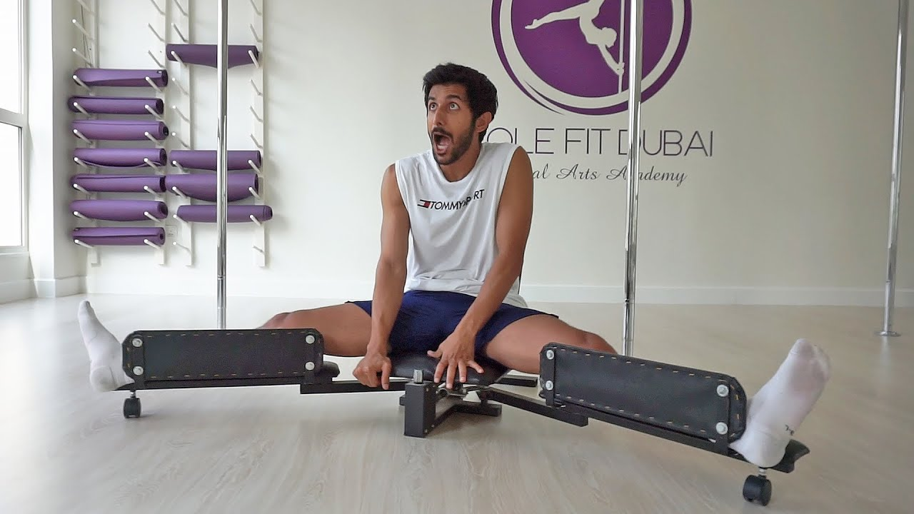 I tried this crazy torture device - جربت جهاز التعذيب