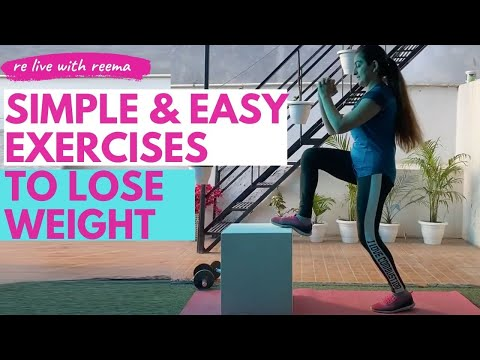 Simple & Easy Exercises To Lose Weight Fast At Home With A Box | वजन और पेट की चर्बी घटाएं सिर्फ