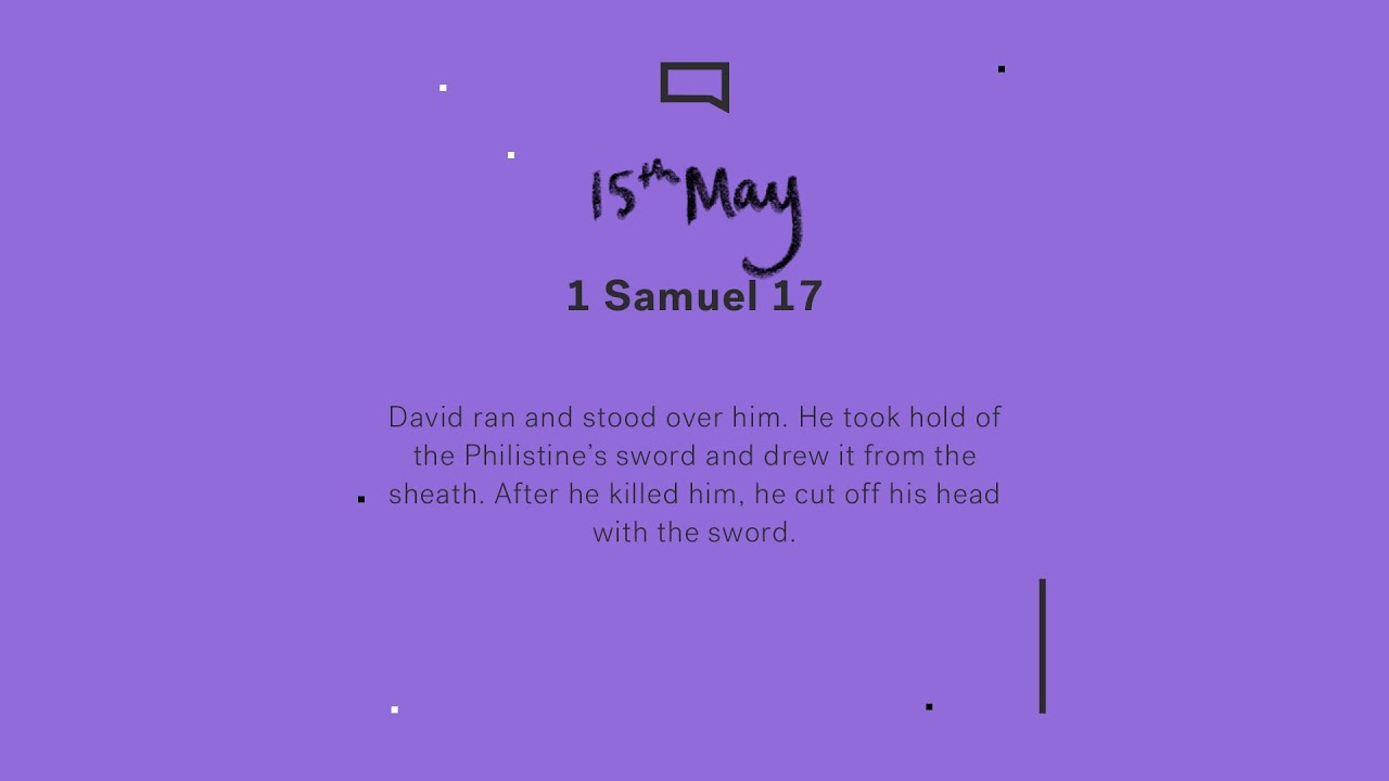 Daily Devotion with Sophie Spital // 1 Samuel 17 Cover Image