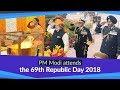PM Modi at the 69th Republic Day  2018 Ceremony at Rajpath in New Delhi | PMO