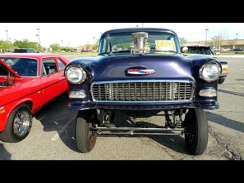 1955 MODIFIED CHEVROLET BEL AIR BLOWN 454 GMC 671 SUPER CHARGE GASSER FOR SALE