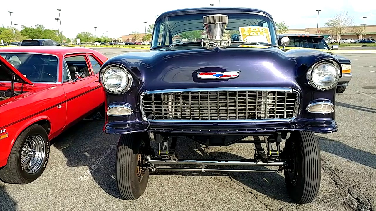 1955 MODIFIED CHEVROLET BEL AIR BLOWN 454 GMC 671 SUPER CHARGE ...