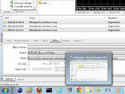 Metatrader 4 mysql how to create