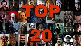 My Top 20 Favorite Horror Movie Villains