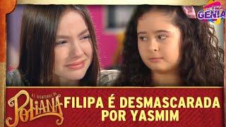Filipa é desmascarada por Yasmim   As Aventuras de Poliana  por Fala Gênia