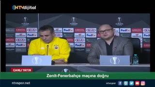 #CANLI - Ersun Yanal ve Skrtel, Zenit maçı öncesi basın toplantısı düzenliyor
