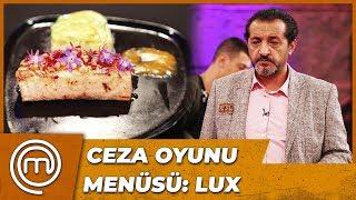 Ceza Oyunu Menüsü'ni Mehmet Şef Hazırladı   MasterChef Türkiye 37.Bölüm