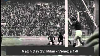 Italian Serie A Top Scorers: 1961-1962 José Altafini (Milan) 22 goals