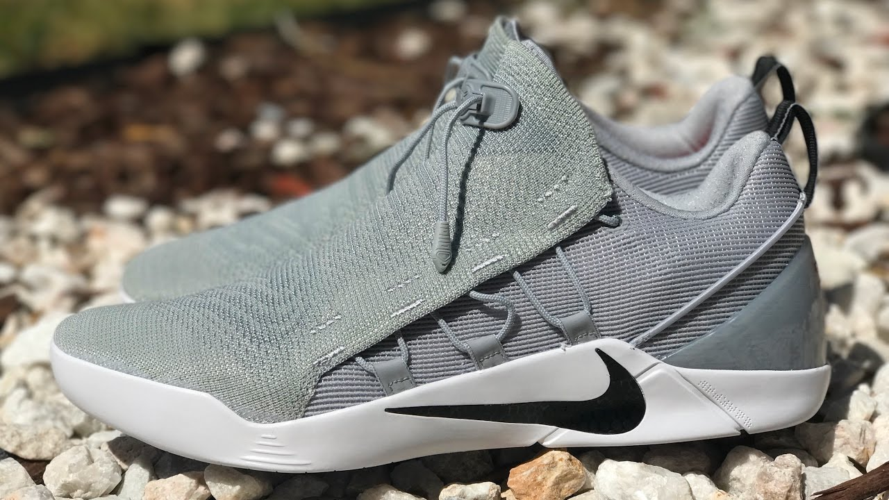 competitive price dc94a 412b4 KoF Live: Unboxing The New Nike Kobe A.D. NXT Wolf Grey