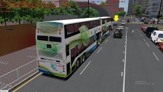 omsi 2 tour (1637) KMB 8P 海逸豪園 - 尖沙咀 Laguna Verde - Star Ferry @ ADL E50H