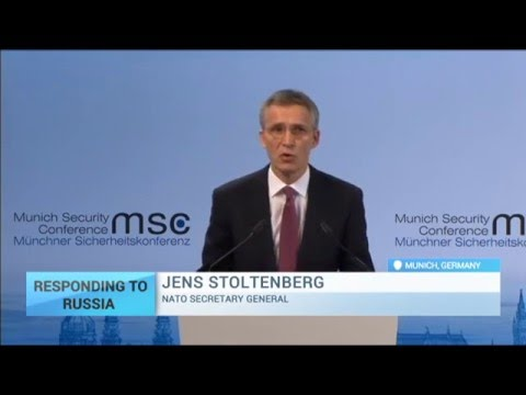 NATO Secretary General Jens Stoltenberg: Russia is destabilising the European security order