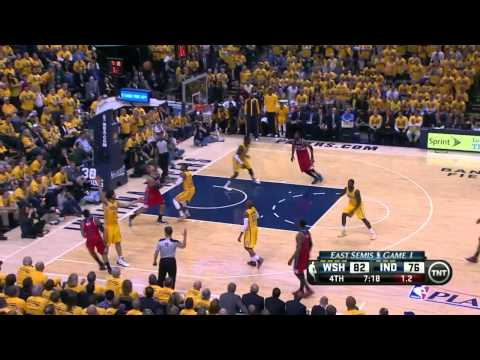 Washington Wizards vs Indiana Pacers Game 1 | May 5, 2014 | NBA Playoffs 2014