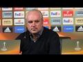 Пресс-конференция после матча «Краснодар» - «Фенербахче»