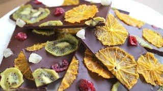 ドライフルーツチョコレートバーク cook kafemaruさんのレシピ書き起こし