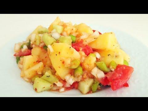 Son Patates Salatası Tarifi ( Ekonomik Kriz ve Seçim İçerir ) / Vegan