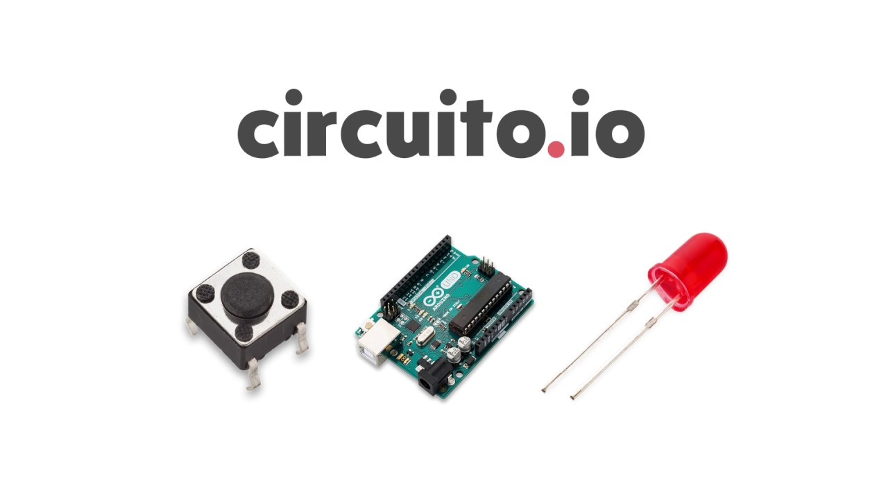 Circuito Io : Tutorial connect button led to arduino using circuito youtube