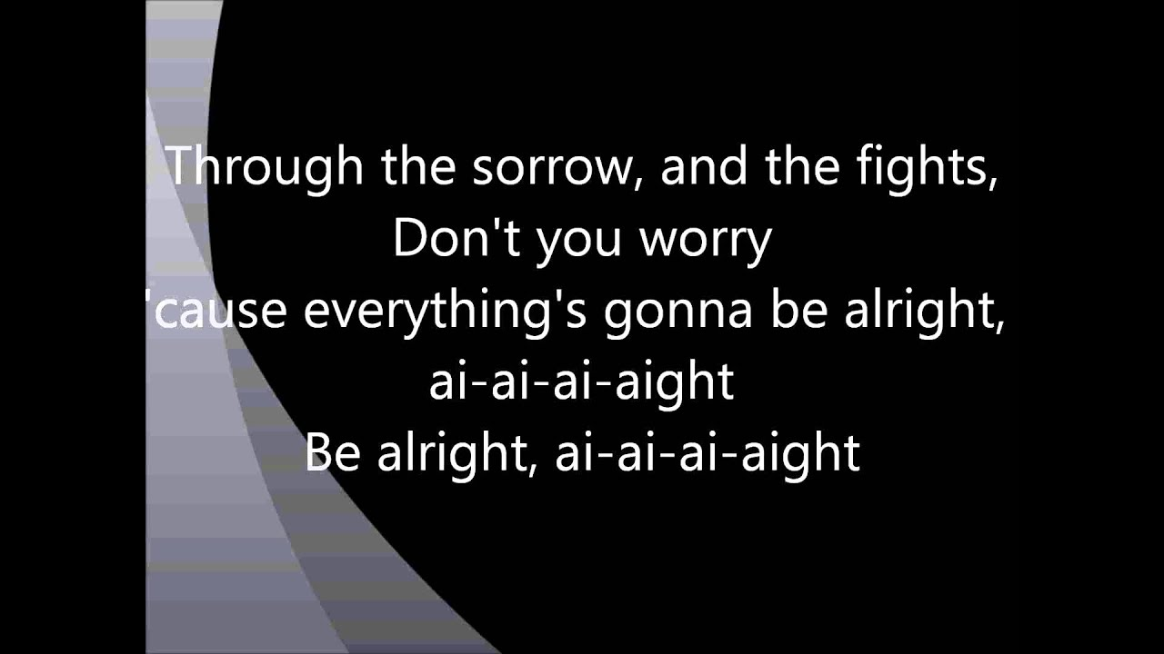 Ivan B – You'll Be Alright Lyrics | Genius Lyrics