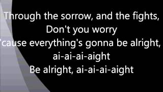 Justin Bieber - Be Alright Lyrics