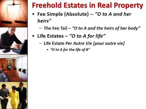 POL 203 Property Law Lecture Presentation SP15 AUDIO