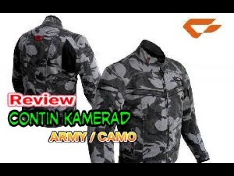 Review Jaket Contin Kamerad (Army  Camo) - YouTube 59cd9f4db4