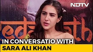 Sara Ali Khan On Food, Films, Family And More