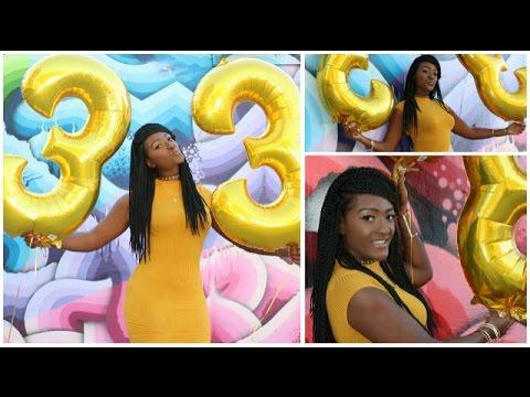 MY 33RD BIRTHDAY MODEL PHOTOSHOOT!!! | KROG ST STREET ART | ATLANTA ...
