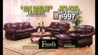 Freed's Furniture - January Clearance Sale
