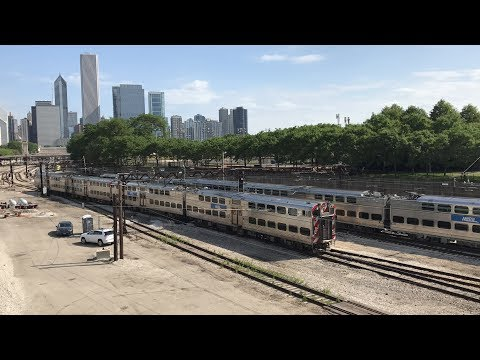 CTA & Metra Electric Trains in Chicago