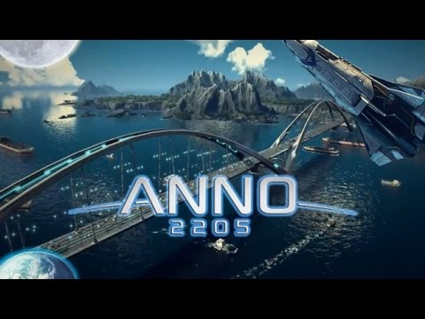 Игра Anno 2205 - трейлер. Знаменитый симулятор городского строительства