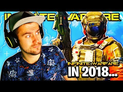 playing INFINITE WARFARE instead of BLACK OPS 4...!? 😱