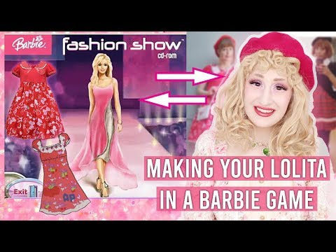 Recreating YOUR Lolita Coords In A Barbie Game