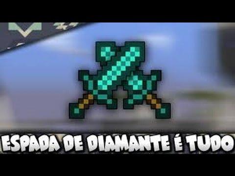 Minecraft PE: SKYWARS - ESPADA DE DIAMANTE NO LEET !?