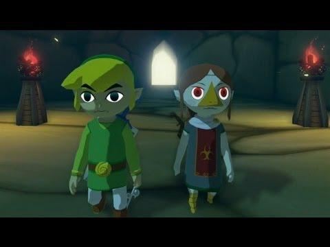 The Legend of Zelda: The Wind Waker HD - Part 13 - Power Bracelet / Earth God's Lyric