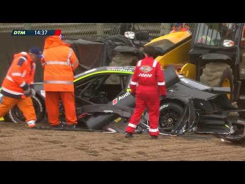 Mega-Crash im Qualifying von Fittipaldi-Enkel