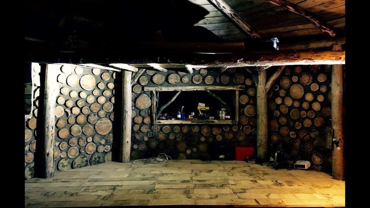 Off grid roundhouse build part 25 solid oak floor