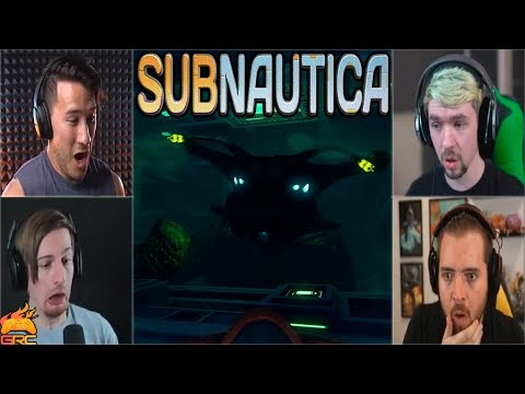Gamers Reactions to the Sea Emperor | Subnautica