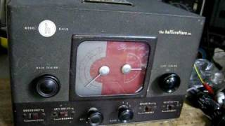 Hallicrafters Skyrider Jr. S-41G Receiver It was born at 1946 in U....