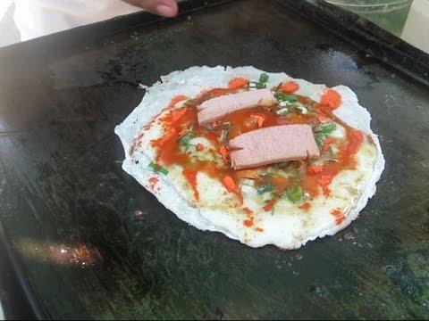 Jakarta Street Food 418 Javanese Pizza Kebab Corned Egg Lumpia BR TiVi 3238