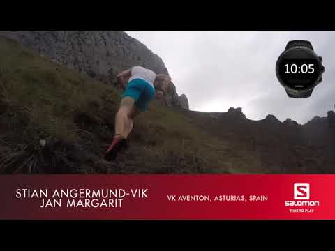 Stian Angermund attempts to break the VK World Record in Spain   Salomon